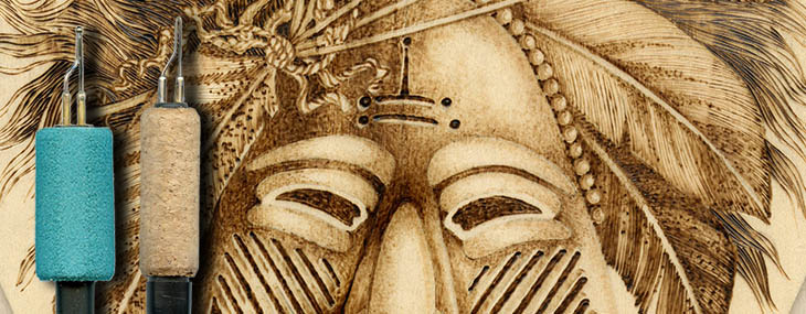 Online Free Project Ceremonial Mask Pyrography Project By