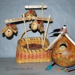 Free Craft Gourd Art Bird House Project
