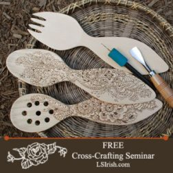 Cross Crafting Wood Carving. Pyrography, and Scroll Saw Free Project