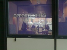 The Opportunites @Lincoln office