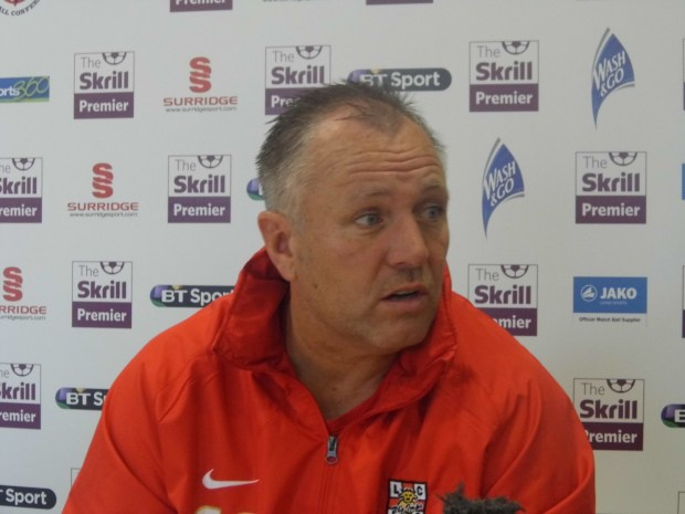 Lincoln City manager Gary Simpson is aware of Worcester's potential