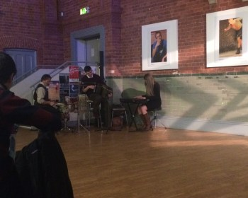 The Liam Robinson Band perform