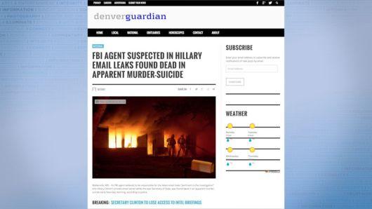 Fake anti-Hillary story