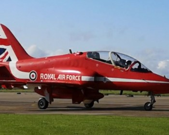 Red Arrows Plane