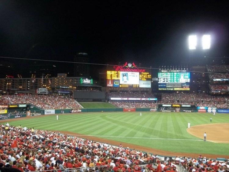 Busch Stadium in St. Louis. Photo: Hannah Cross