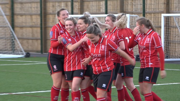 Lincoln City Women say they're about injuries because of a lack of preparation for their FA Cup tie. Photo: Aaron Mayhew