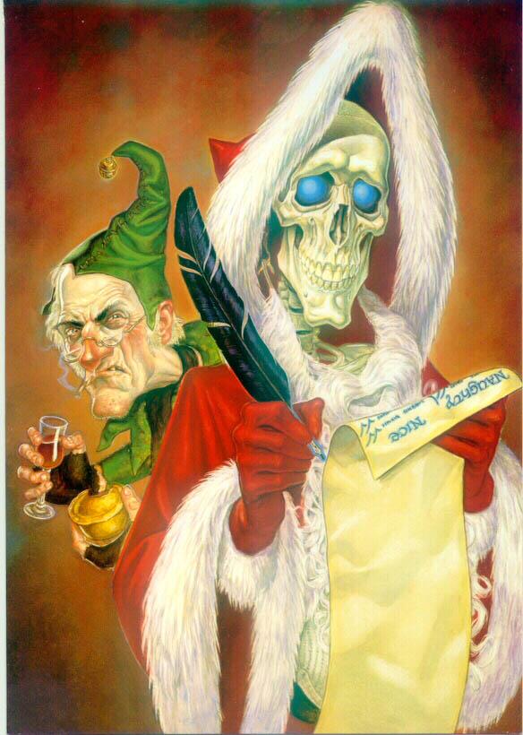 Paul Kidby Discworld Christmas Cards