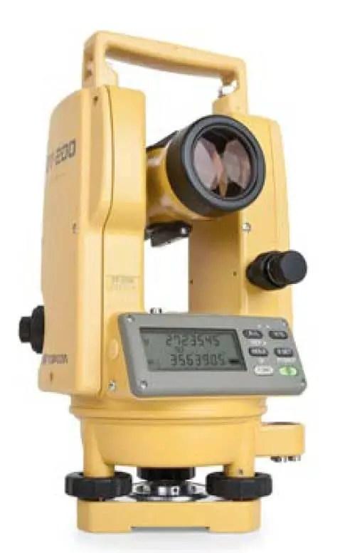 Topcon DT-200 Series Theodolite