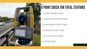 Checks on Total Station Accuracy
