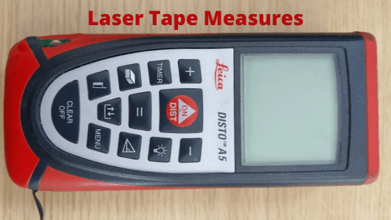 Beginners Guide to Laser Tape Measures.