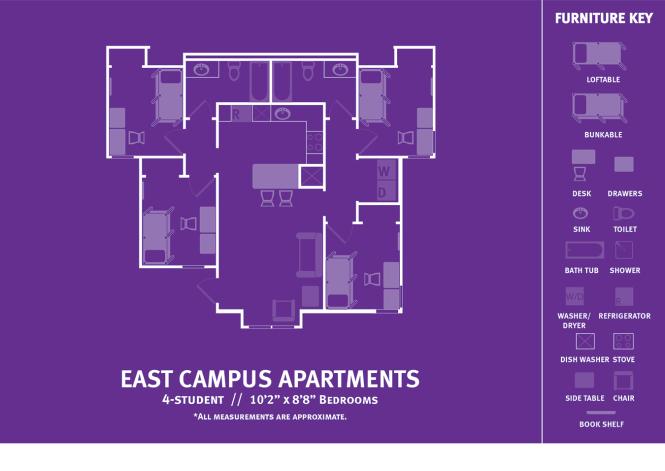 Eca Two Student Apartment 4