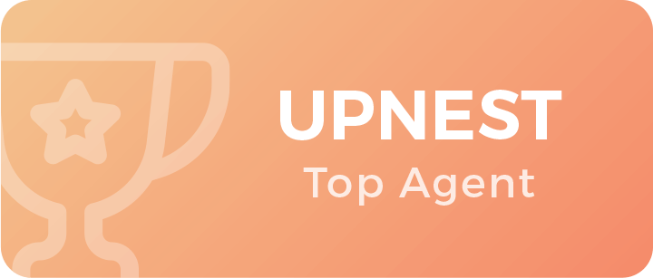 UpNest Top Winning Agent Badge