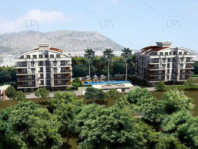 comfortable and large flats in Konyaalty