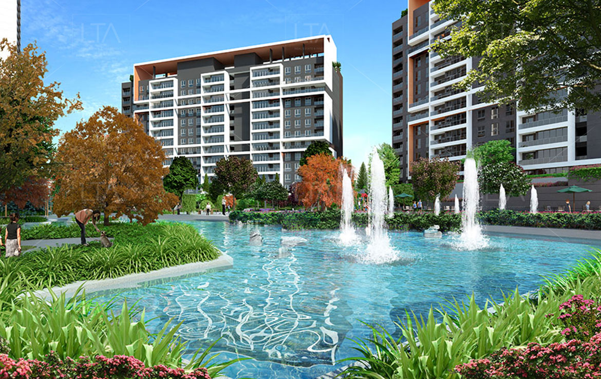 Luxury apartments Bahcesehir