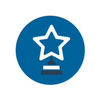 Vector Graphic Star Trophy