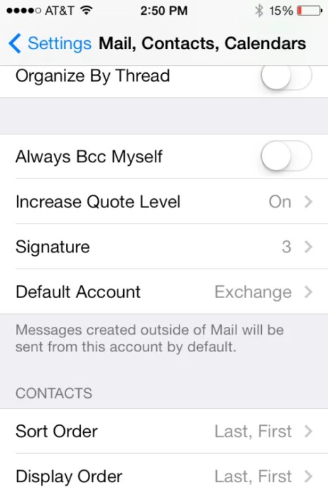iOS Signature Screen Shot 2