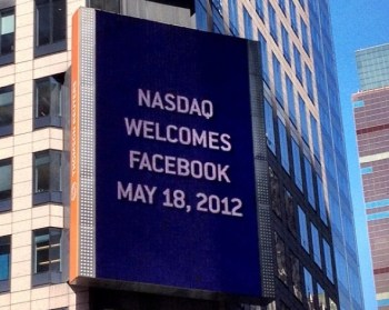 Facebook on Nasdaq