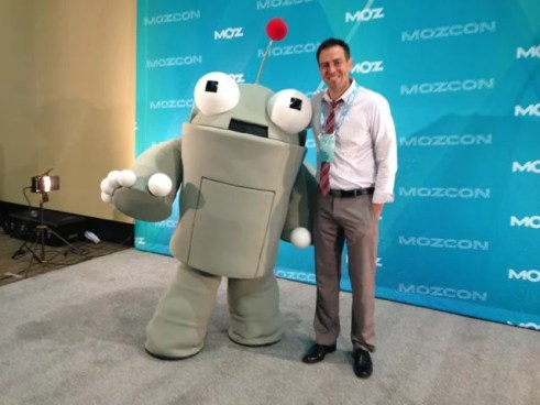 Zac and Roger at MozCon 2014