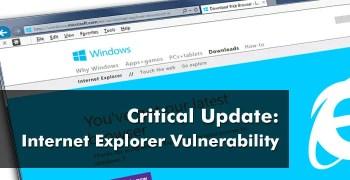 internet explorer vulnerability