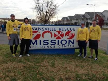 Evansville Rescue Mission Drumstick Dash