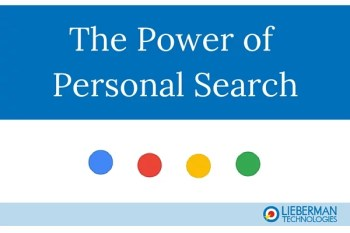 The Power of Personal Search