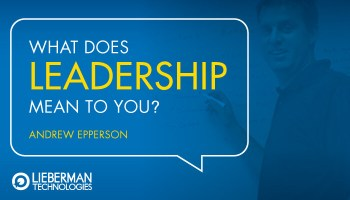 Leadership Andrewb Lieberman