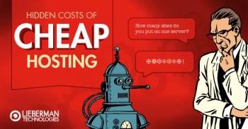 hidden costs of cheap web hosting