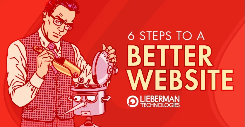 6 steps to a better website