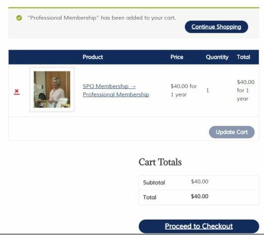an easy to update wordpress shopping cart