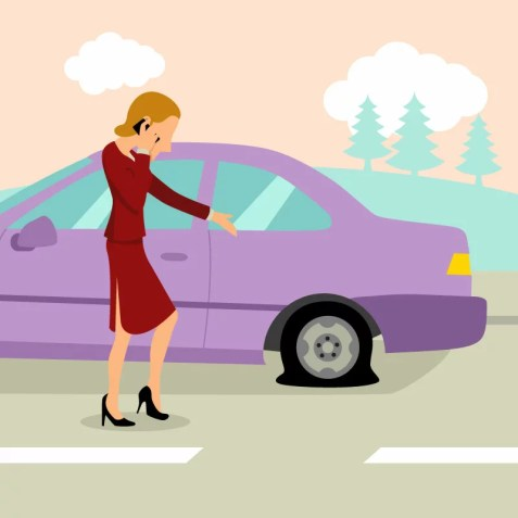 no flat tire after a fill up with managed wordpress hosting