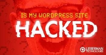 is my WordPress site hacked?
