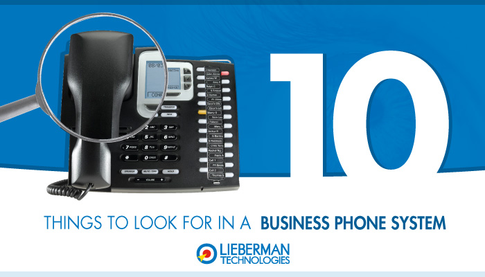 Things to look for in an office phone system