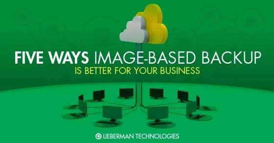Image Based backup is better