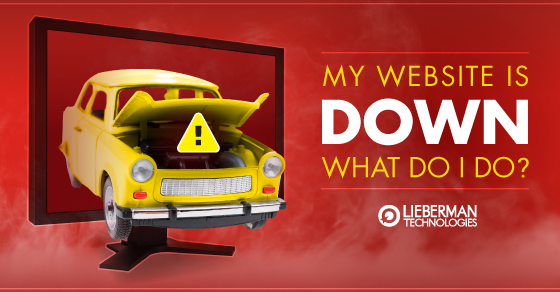 What to do when my website is down