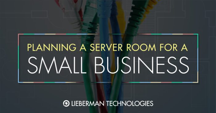 planning a server room for small business