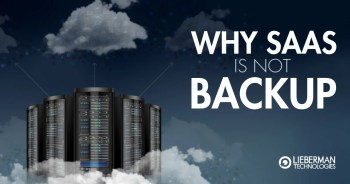 Why SaaS Is Not Backup