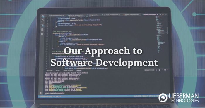 Our Approach To Software Development