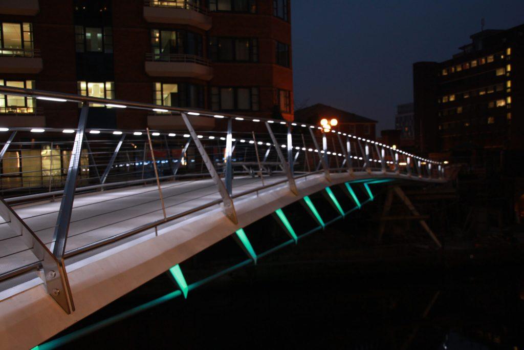 Irwell Footbridge - Architectural Lighting for Bridges & Walkways