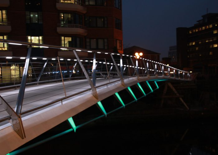 Irwell Footbridge - Architectural Lighting for Bridges & Walkways
