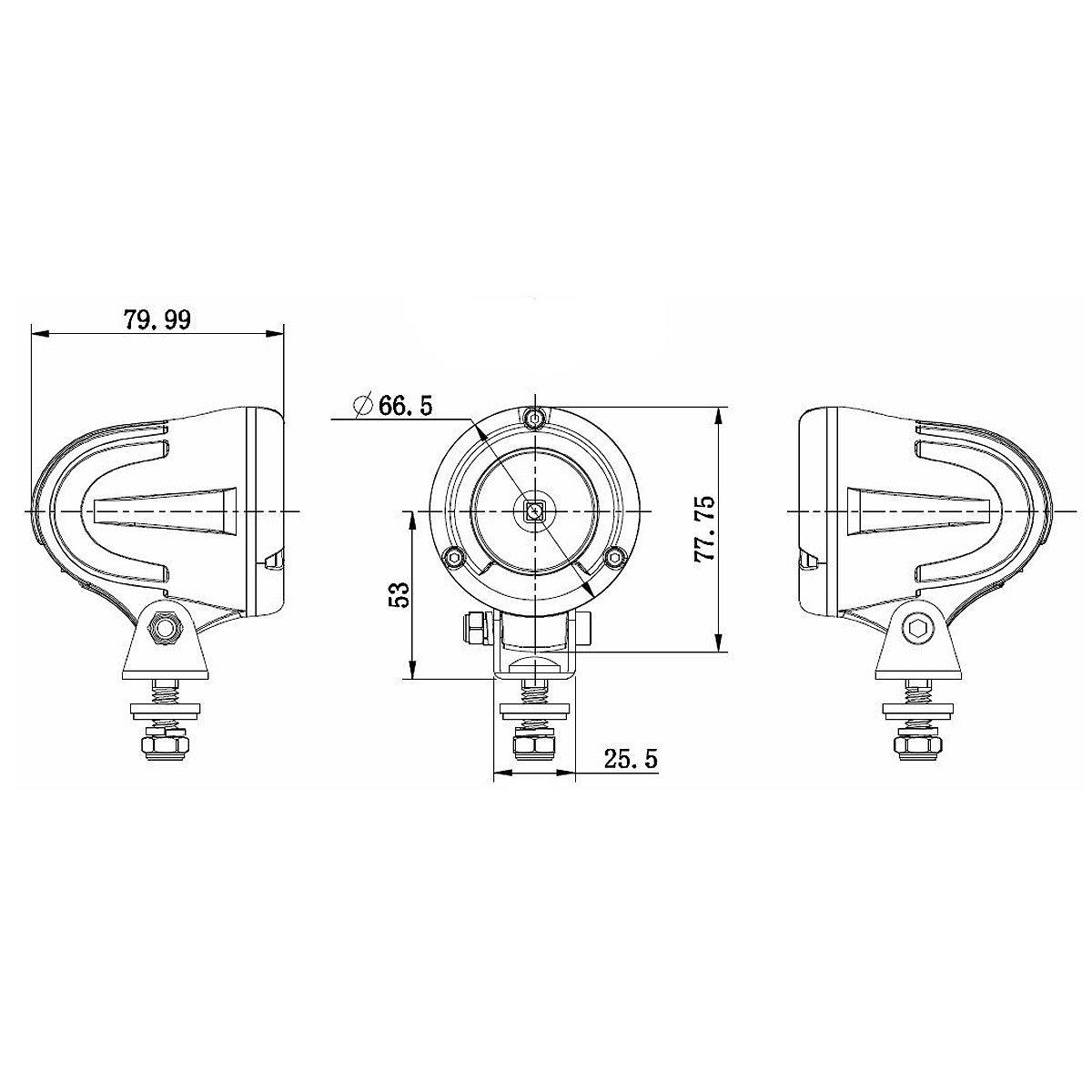 10w Worklight 60 Model Wl106 F