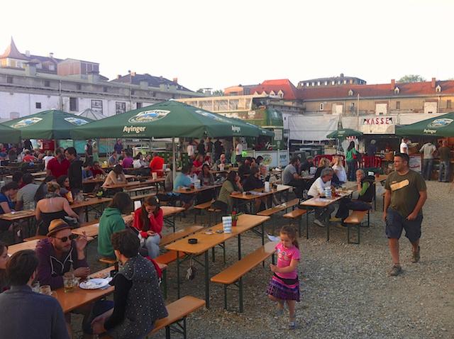 Viehhof - Biergarten