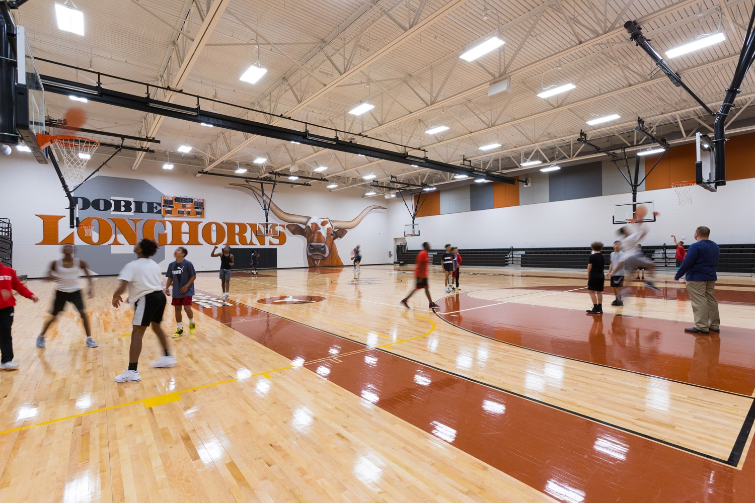 Dobie Ninth Grade Center - Gym