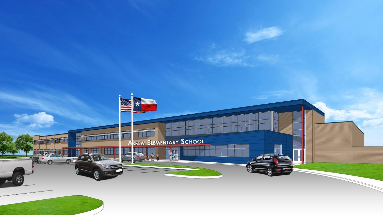 Askew Elementary School - Southeast View A