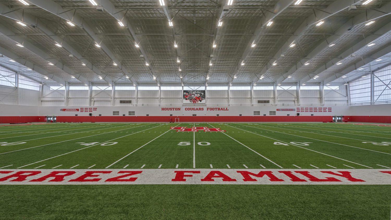 University of Houston Indoor Football Facility - Sideline