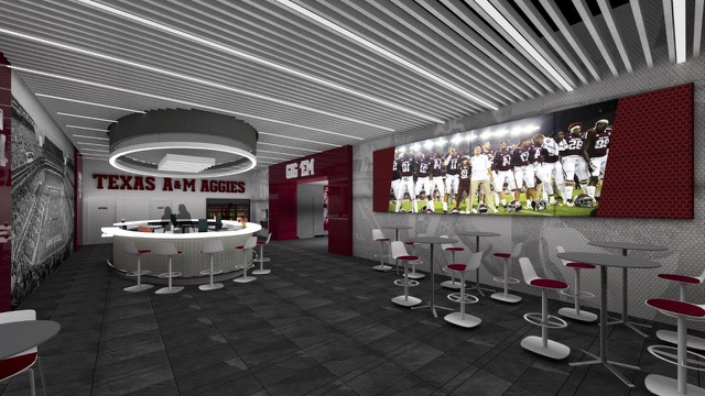 Davis Player Development Center Renovations - Bar