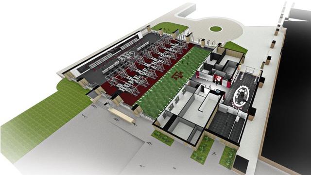Davis Player Development Center Renovations