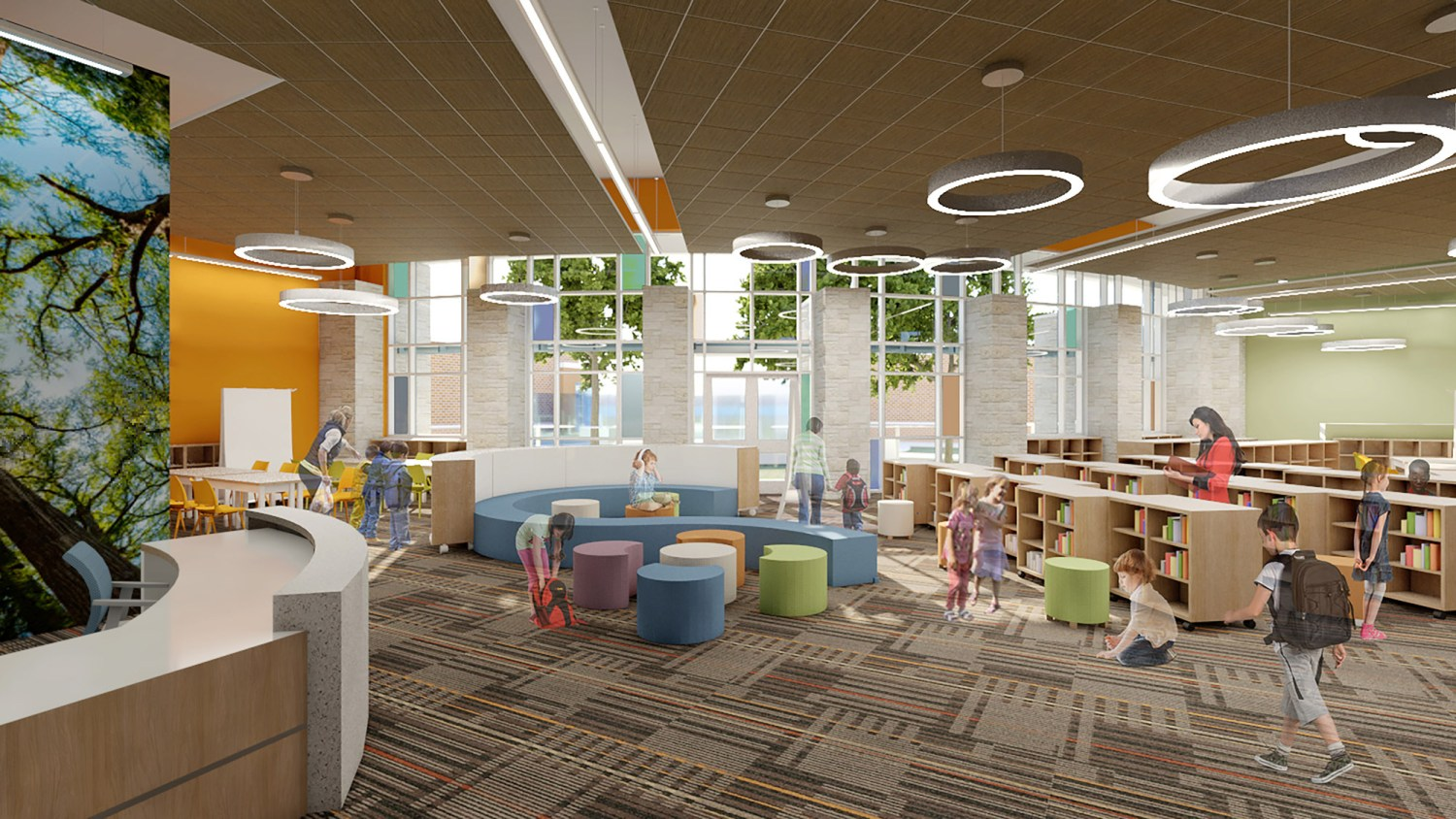 Texas City Elementary Schools - Library