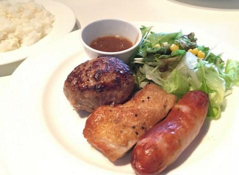 10Fの居酒屋さんで穴場ランチ。ハンバーグはなかなかいけます!@梵 新宿食材王国(新宿三丁目)