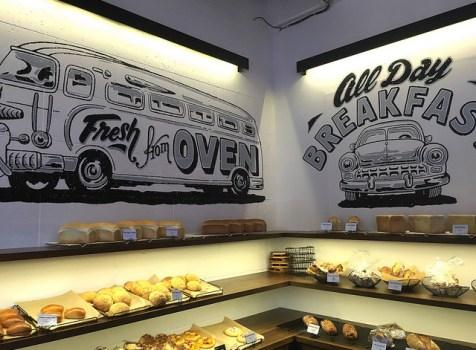 行き交う人が出会うパン屋さん。カフェはカルフォルニアスタイル!@ Crossroad Bakery and Cafe(恵比寿)