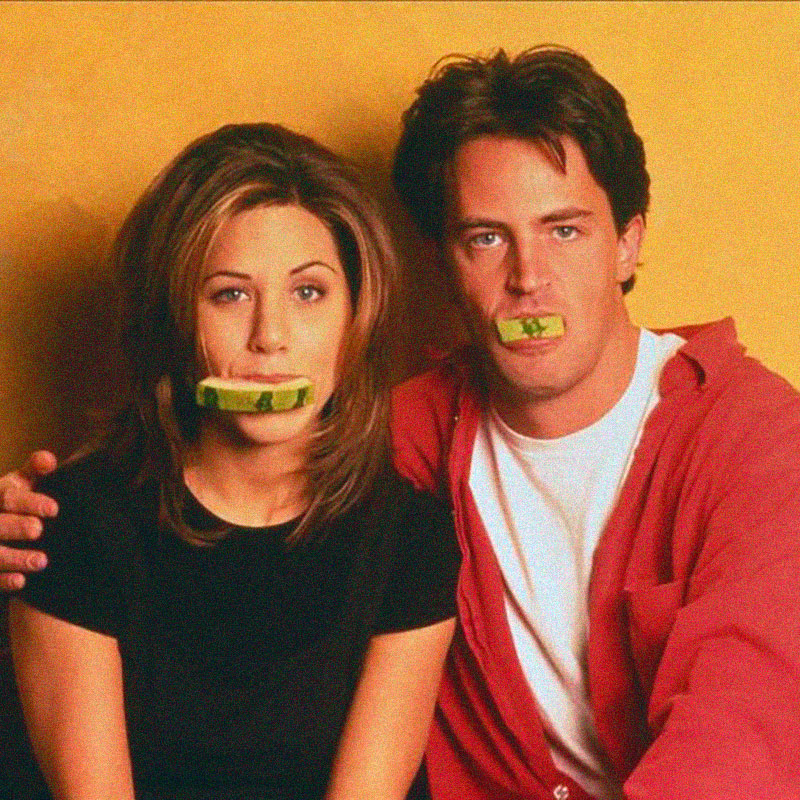 Jennifer Aniston + Matthew Perry